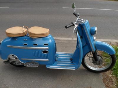 DKW Hobby Luxus Roller von 1955
